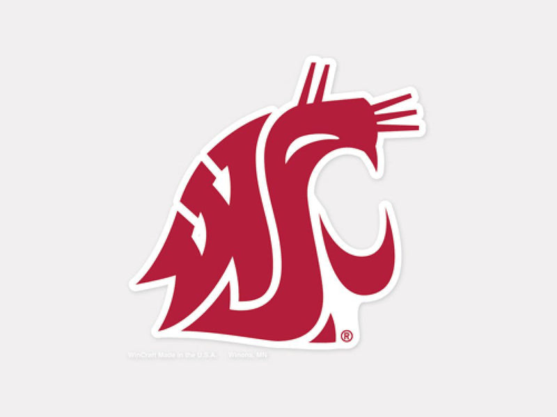 Washington State Cougars Decal 4x4 Perfect Cut Color