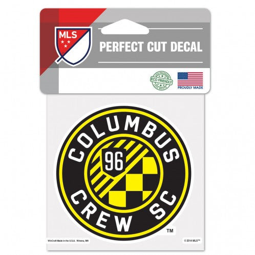 Columbus Crew Decal 4x4 Perfect Cut Color