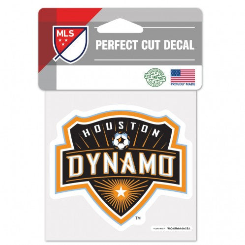 Houston Dynamo Decal 4x4 Perfect Cut Color