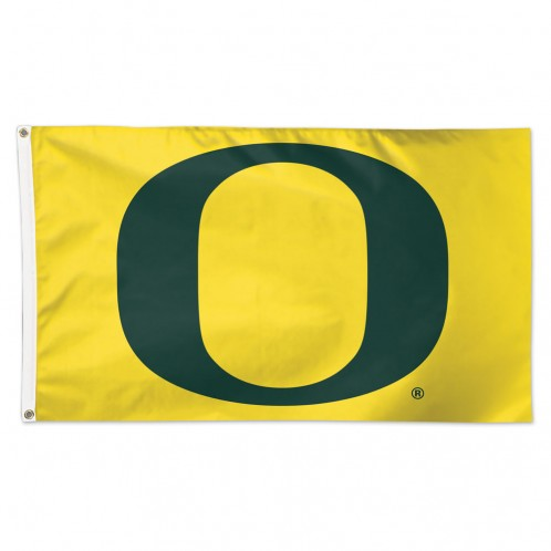 Oregon Ducks Flag 3x5 Yellow