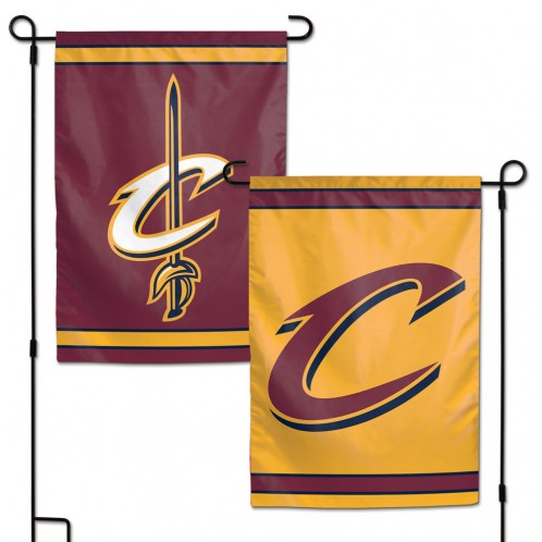 Cleveland Cavaliers Flag 12x18 Garden Style 2 Sided