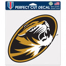 Missouri Tigers Decal 8x8 Perfect Cut Color - Special Order