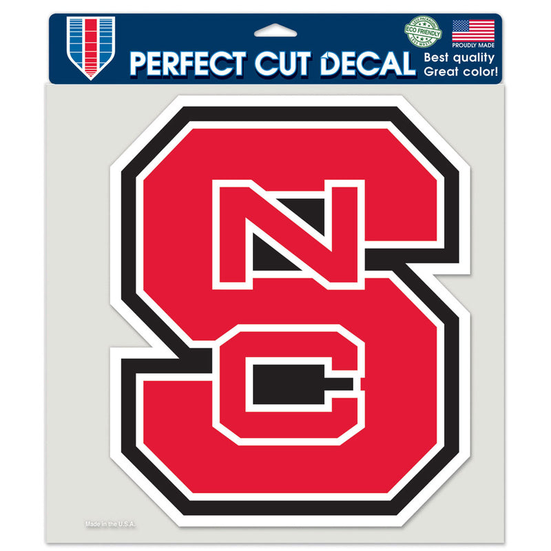 North Carolina State Wolfpack Decal 8x8 Perfect Cut Color