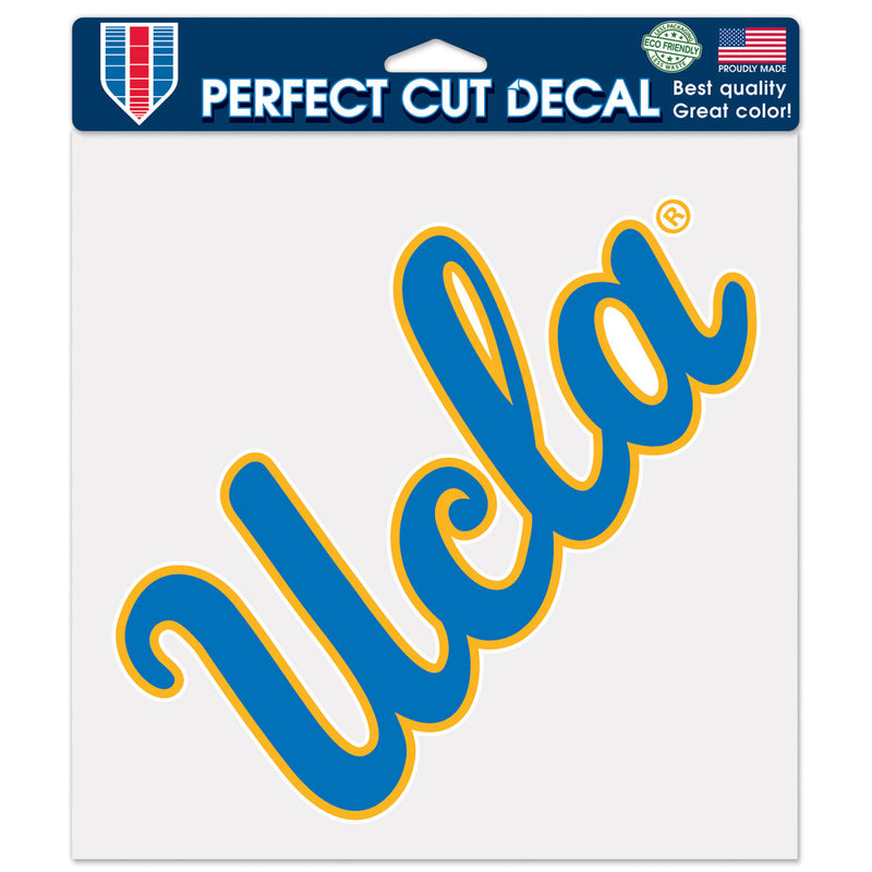 UCLA Bruins Decal 8x8 Perfect Cut Color