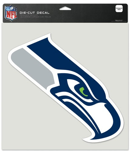 Seattle Seahawks Decal 8x8 Die Cut Color
