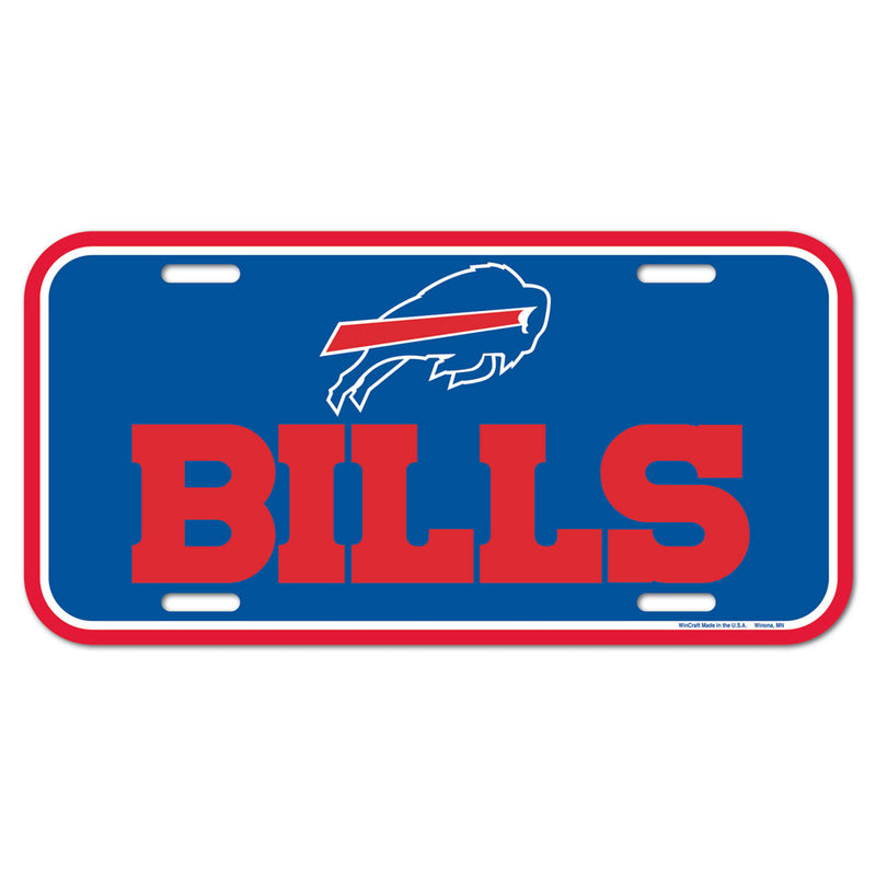 Buffalo Bills License Plate