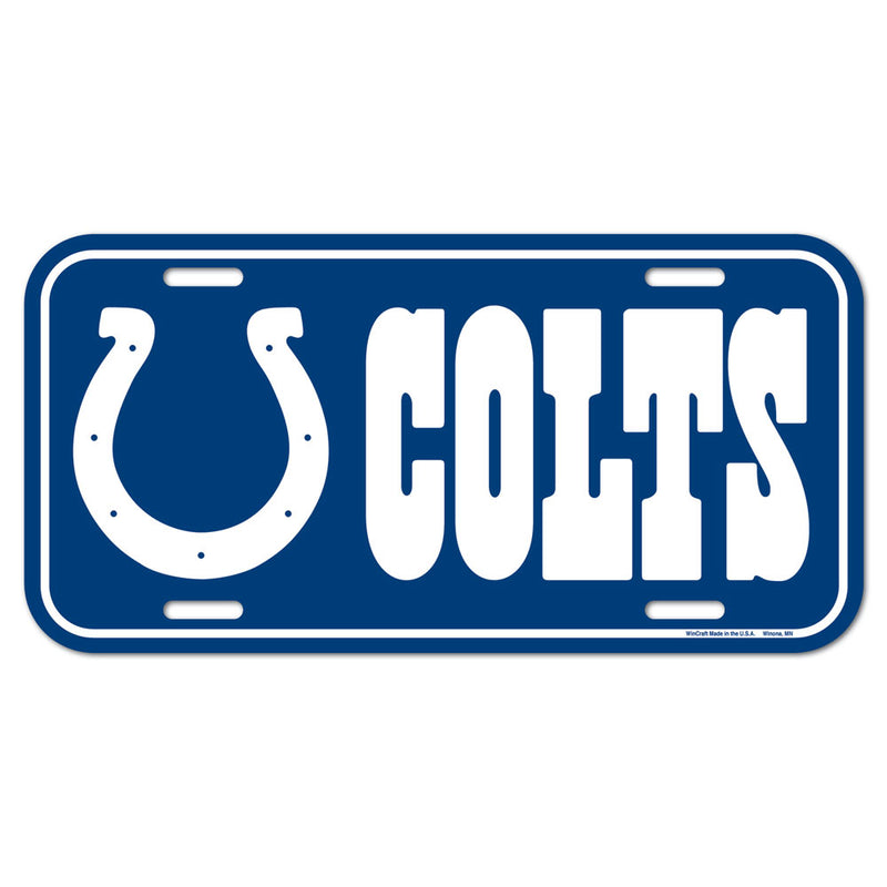 Indianapolis Colts License Plate
