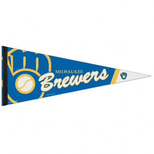 Milwaukee Brewers Pennant 12x30 Premium Style