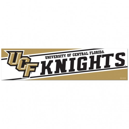 Central Florida Knights Decal 3x12 Bumper Strip Style - Special Order