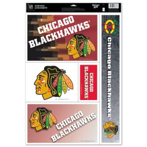 NHL - Chicago Blackhawks - Decals Stickers Magnets