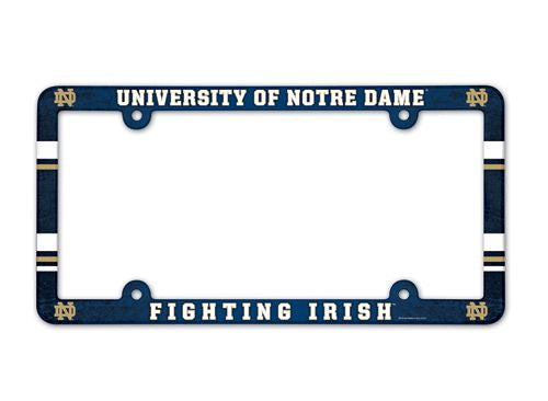Notre Dame Fighting Irish License Plate Frame - Full Color