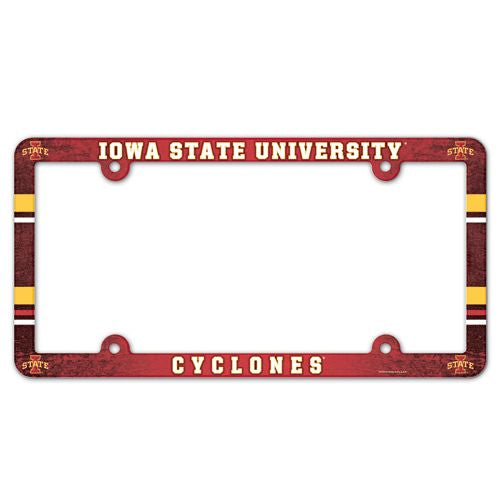 Iowa State Cyclones License Plate Frame - Full Color