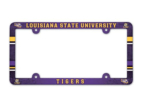 LSU Tigers License Plate Frame - Full Color