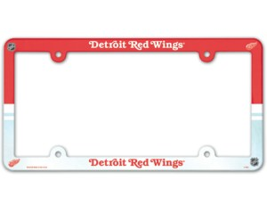 Detroit Red Wings License Plate Frame - Full Color