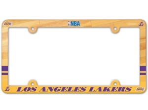 Los Angeles Lakers License Plate Frame - Full Color