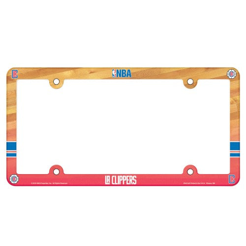 Los Angeles Clippers License Plate Frame - Full Color