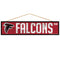 Atlanta Falcons Sign 4x17 Wood Avenue Design