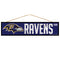 Baltimore Ravens Sign 4x17 Wood Avenue Design