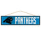 Carolina Panthers Sign 4x17 Wood Avenue Design