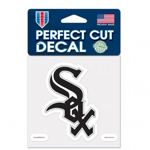 Chicago White Sox Decal 4x4 Perfect Cut Color