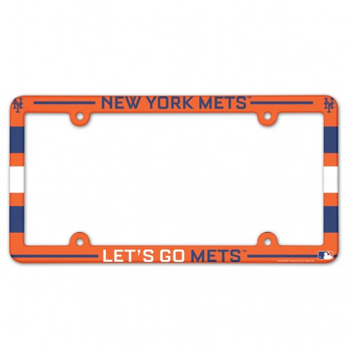 New York Mets License Plate Frame - Full Color