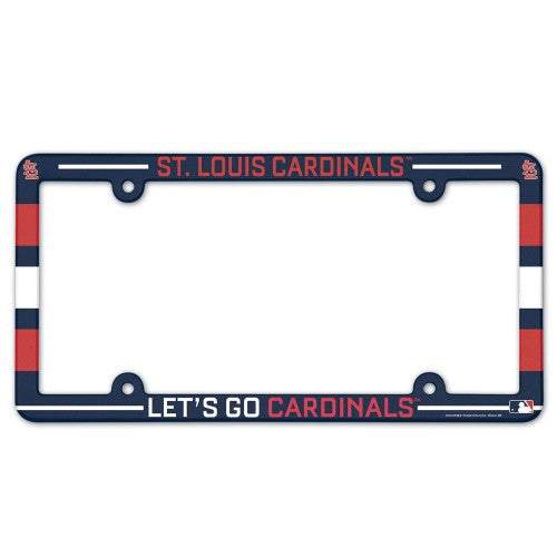 St. Louis Cardinals License Plate Frame - Full Color