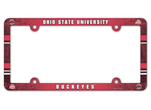 Ohio State Buckeyes License Plate Frame - Full Color