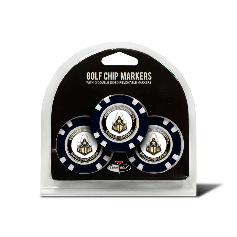 Purdue Boilermakers Golf Chip with Marker 3 Pack - Special Order