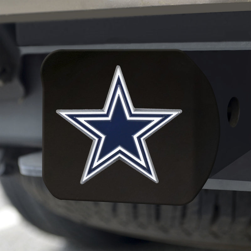 Dallas Cowboys Hitch Cover Color Emblem on Black