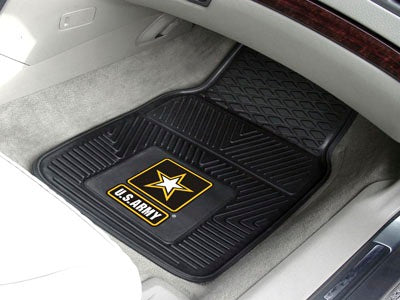US Army Car Mats - Heavy Duty 2-Piece Vinyl - Special Order