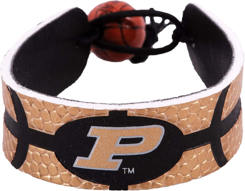 Purdue Boilermakers Bracelet Team Color Basketball