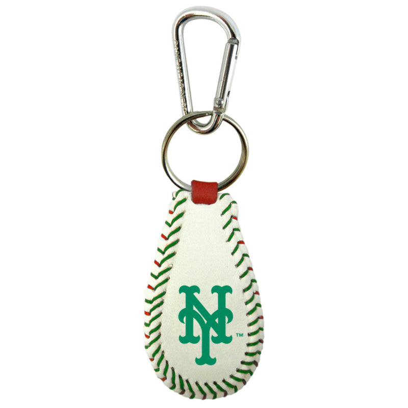 New York Mets Keychain Classic Baseball Holiday