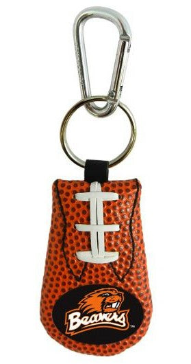 Oregon State Beavers Keychain - Classic Football