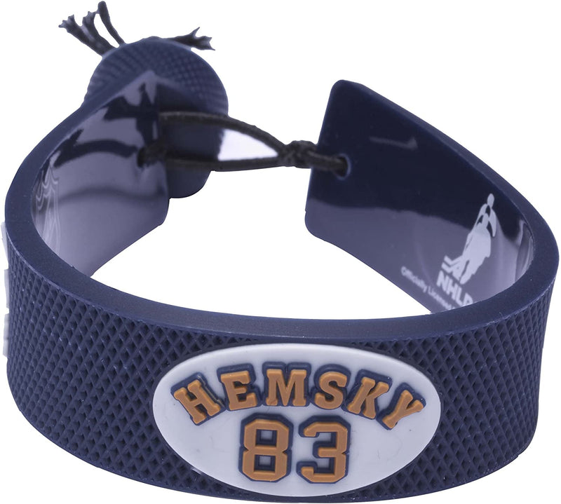 Edmonton Oilers Bracelet Team Color Jersey Alex Hemsky Design