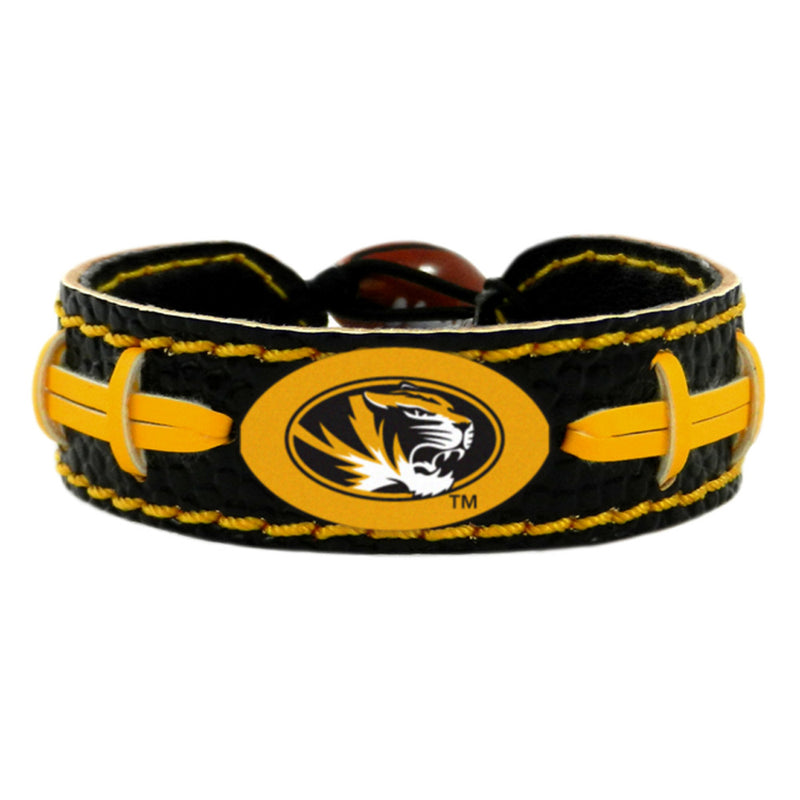 Missouri Tigers Bracelet - Team Color Football