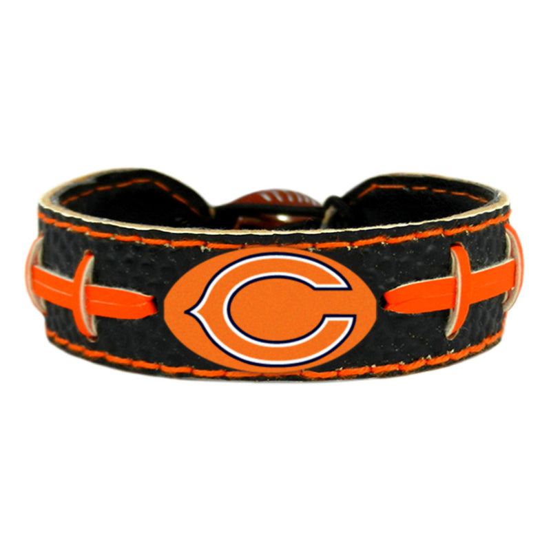 Chicago Bears Bracelet Team Color Football