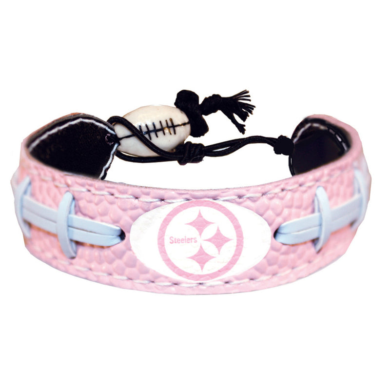 Pittsburgh Steelers Bracelet Pink Football