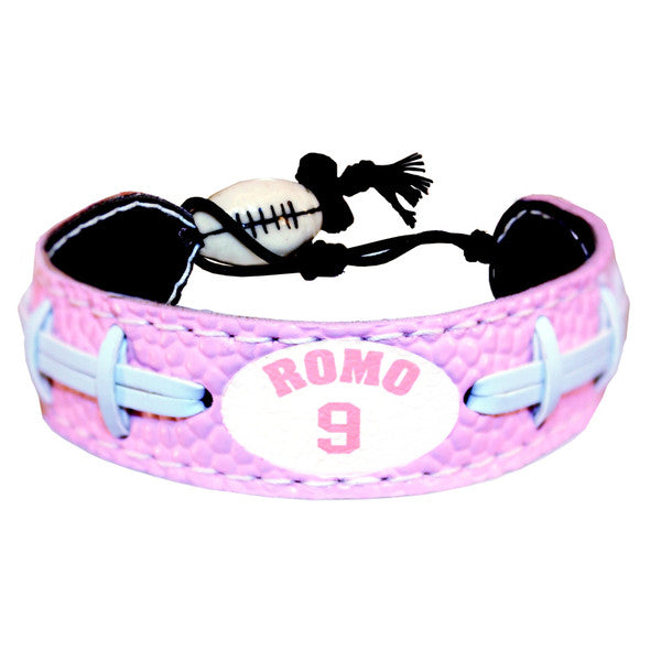 Dallas Cowboys Bracelet Pink Jersey Tony Romo Design