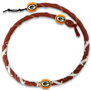 Green Bay Packers Necklace Spiral Football