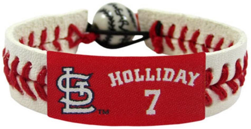St. Louis Cardinals Bracelet Classic Baseball Matt Holiday