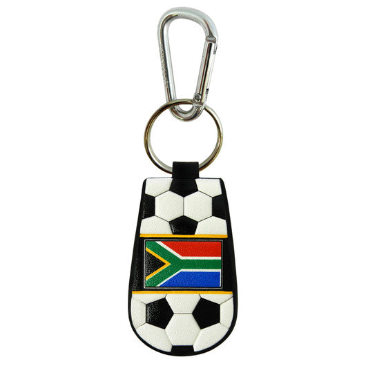 South Africa Flag Keychain Classic Soccer