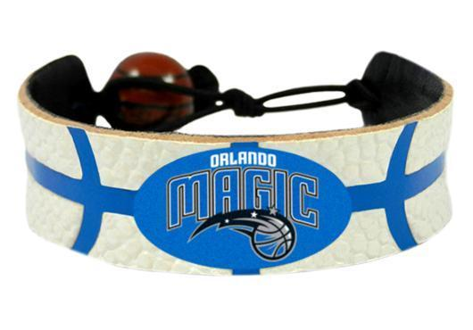 Orlando Magic Bracelet Team Color Basketball White