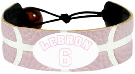 Cleveland Cavaliers Bracelet Team Color Pink LeBron James