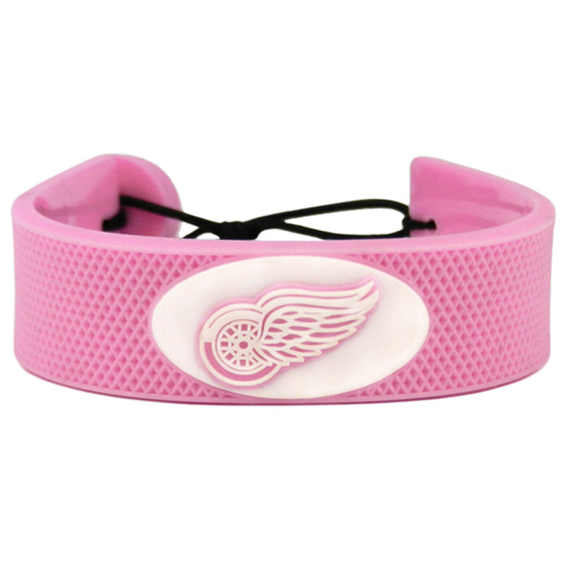 Detroit Red Wings Bracelet Pink Hockey