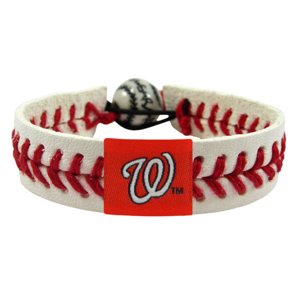 Washington Nationals Bracelet Classic Baseball