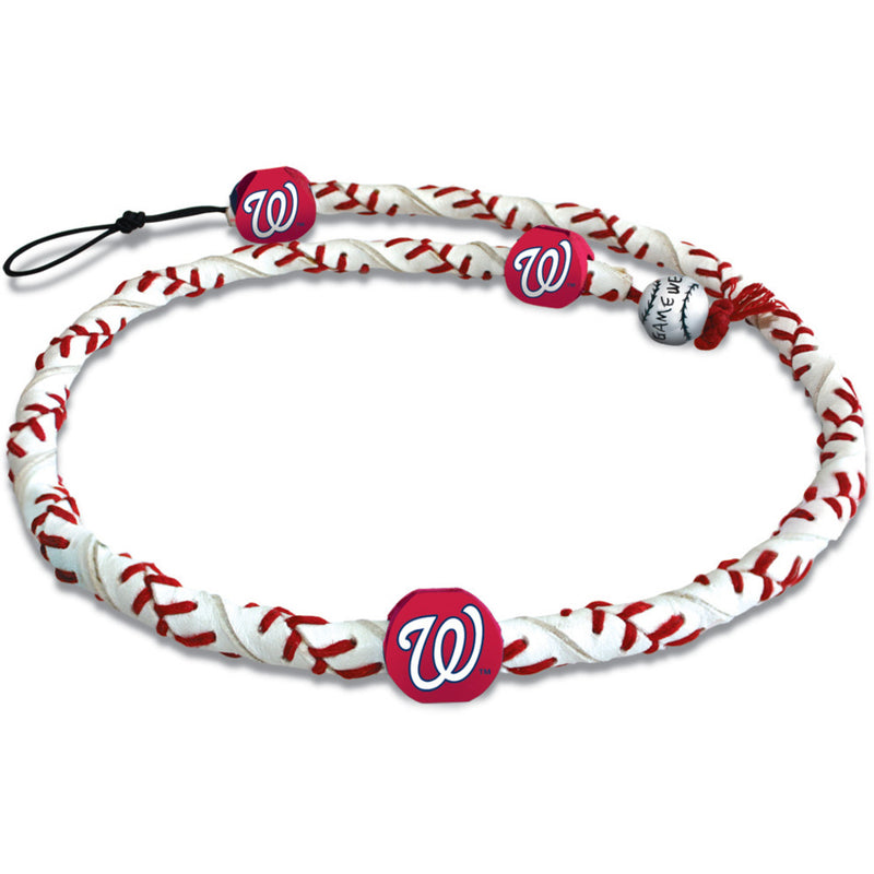 Washington Nationals Necklace Frozen Rope Classic Baseball
