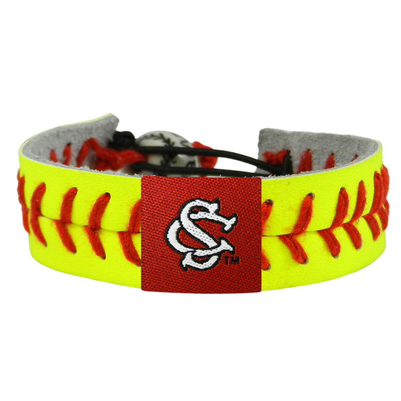 South Carolina Gamecocks Bracelet Classic Softball