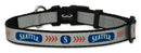 Seattle Mariners Reflective Toy Baseball Collar