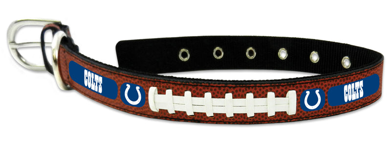 Indianapolis Colts Dog Collar - Size Medium