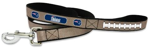 New England Patriots Pet Leash Reflective Football Size Large